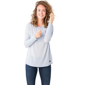 super.natural Travel Koszulka z długim rękawem Kobiety, skyway melange